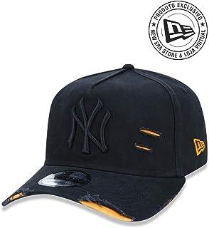 Boné MLB, New Era, Adulto Unissex, Preto, Único
