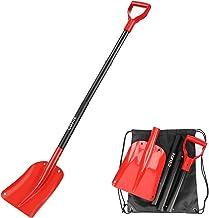 Portable Compact Pliable pour Voiture VUS avec Voiture Pelle /À Neige Pelle Camion Pelle /à Neige durgence avec poign/ée en D-Grip et Aluminium Durable V VONTOX Pelle /à Neige Pliable