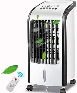 Auua Dispositivo de aire acondicionado portátil, aire acondicionado, silencioso, enfriador de aire, mesa de niebla, ventilador, humidificador con mando a distancia