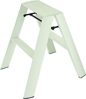 Hasegawa Ladders Lucano Step Stool, 2, Mint Green