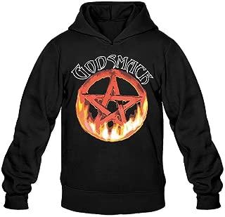 Fire Godsmack Symbol Classic Men's Hooded Hoodies
