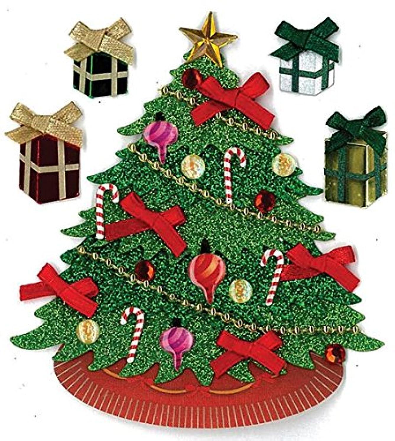 Jolees Christmas Stickers, Classic Tree