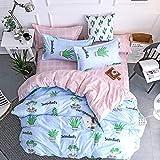 huyiming bed linings Se Utiliza para Juegos de Cama de Cuatro Piezas Suaves y respetuosos con la Piel 1.5m Juego de Cuatro Piezas
