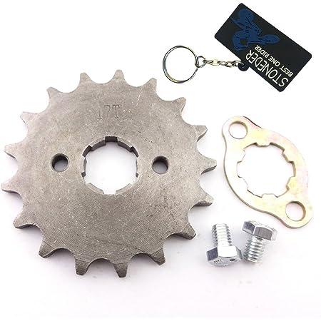 428 13T 17mm Pignon de moteur avant Remplacement pour 50cc 70cc 110cc 125cc 140cc 160cc ATV Dirt Bike Quad TaoTao Roketa Sunl