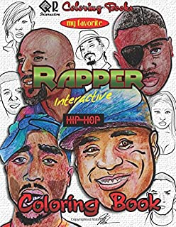 My Favorite Rapper Interactive Hip-Hop Coloring Book (QR Coloring)