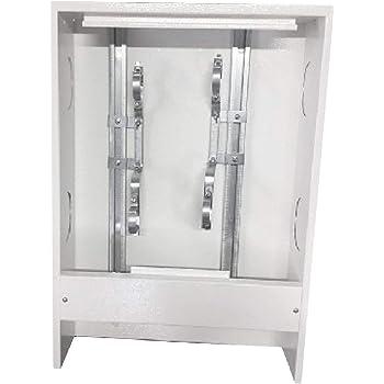 Armario de distribución para calefacción por suelo radiante, caja distribuidora del circuito de calefacción, distribuidor de calefacción, caja de calefacción, circuito de calefacción,: Amazon.es: Hogar