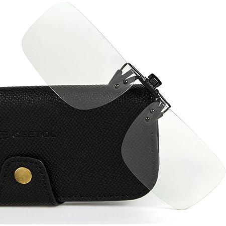 CEETOL ブルーライトカットメガネ クリップオン式 軽量型 [度なしレンズ、 視力保護 ] UV保護 パソコンメガネ 男女兼用