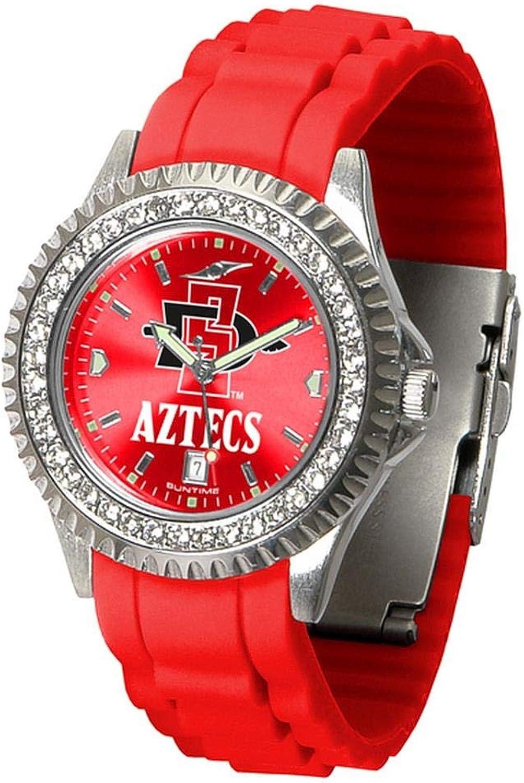 Linkswalker Ladies San Diego State Aztecs Sparkle Watch