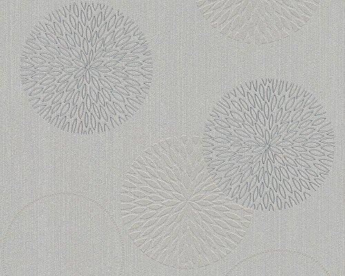 A.S. Création Vliestapete Spot Tapete natürlich 10,05 m x 0,53 m grau Made in Germany 937921 93792-1