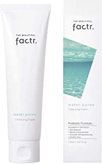 The Beautiful Factr. Water Puree Face Cleansing Foam with Skin Probiotic Formula | Korean Beauty | 150ml