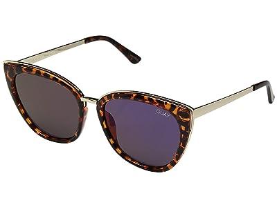 QUAY AUSTRALIA Honey (Tort/Purple) Fashion Sunglasses