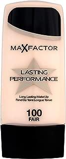 2 x Max Factor, Lasting Performance Foundation, 100 Fair, (35ml), New