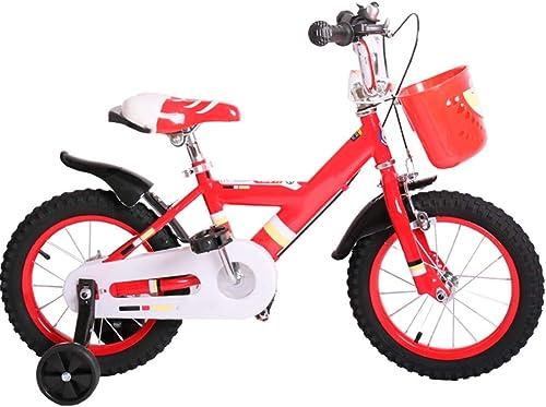 Tu satisfacción es nuestro objetivo Axdwfd Infantiles Bicicletas Bicicletas para Niños, Niños, Niños, Bicicletas para Niños con Rueda de Entrenamiento 12 14 16 pulg. Ciclismo para Niños y niñas, Adecuado para Niños Aged2-8rojo azul  A la venta con descuento del 70%.
