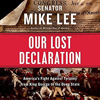 Our Lost Declaration audiobook cover art