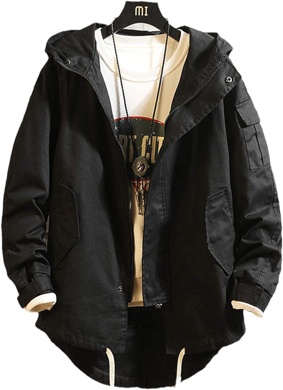 USTZFTBCL New product! New type Harajuku Streetwear Military Jacket Black 4 years warranty Men Camoufla