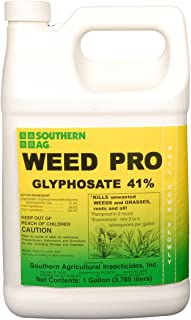 Southern Ag Weed Pro Glyphosate 41% Grass & Weed Killer, 1 Gallon