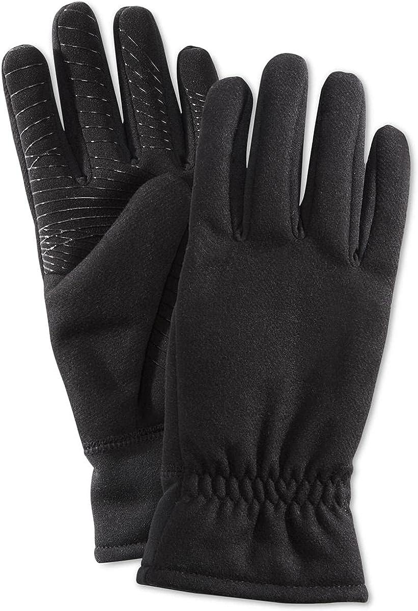UR Powered Mens Wool Blend Grippy Palm Winter Gloves