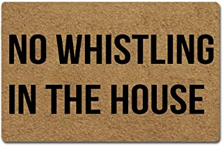 Best no whistling in the house doormat Reviews