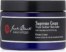 JACK BLACK , Supreme Cream Triple Cushion Shave Lather, 2.6 oz