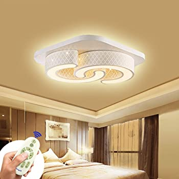 LED Design Ring Leuchte Decken Lampe dimmbar weiß matt Schlaf Zimmer Beleuchtung