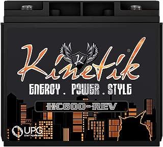 Kinetik HC600-REV HC REV Series 600 Watt 12V High Current AGM Car Audio Power Cell - Battery
