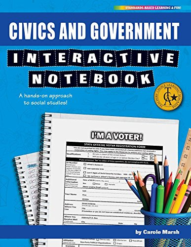 Civics and Government Interactive Notebook: A Hands-On Approach to Social Studies! (Interactive Notebooks)の詳細を見る