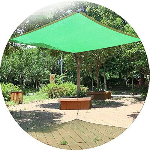 YYQ 85% Schattiernetz Schattierungsgewebe UV-Schutz Reißfest Grün Sichtschutztuch Sichtblende,mit Ösen 4x6m 5x6m,für Gewächshau Terrasse Teich