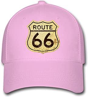 Populer America Cadillac Route 66 Logo Custom Printing Baseball Caps Sun Hats