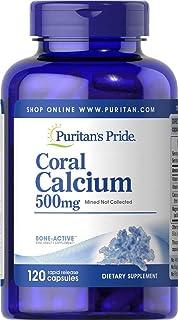 Puritan's Pride Coral Calcium Complex 500mg - 120 capsules