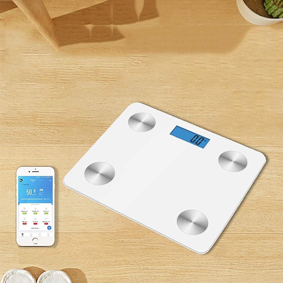 起こる資本弾薬体重計、Bluetooth、体脂肪計、体重、脂肪、水分、筋肉、BMI、内臓脂肪、骨、カロリー、8人データ