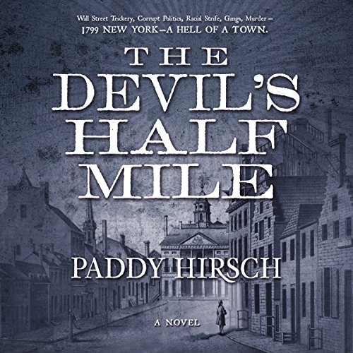 The Devil's Half Mile audiobook cover art