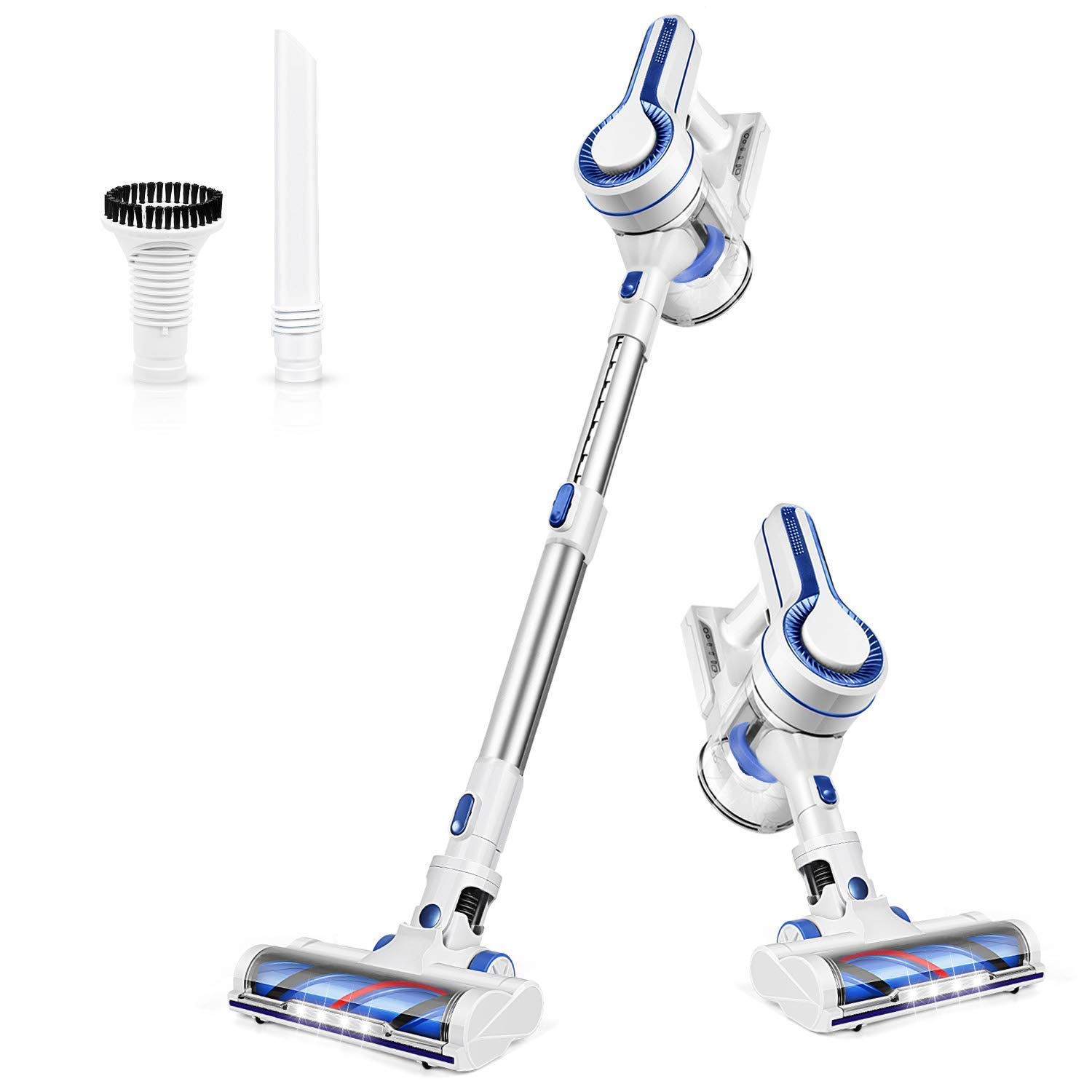 Powerful Suction Lightweight 4 in 1 Stick Vacuum Extension Wand /& Detachable Battery for Home Hard Floor Car Pet Cleaning H10 A9 APOSEN Cordless Vacuum Cleaner
