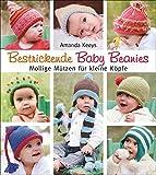 Bestrickende Baby Beanies. Mollige Mützen zum Stricken für kleine Köpfe