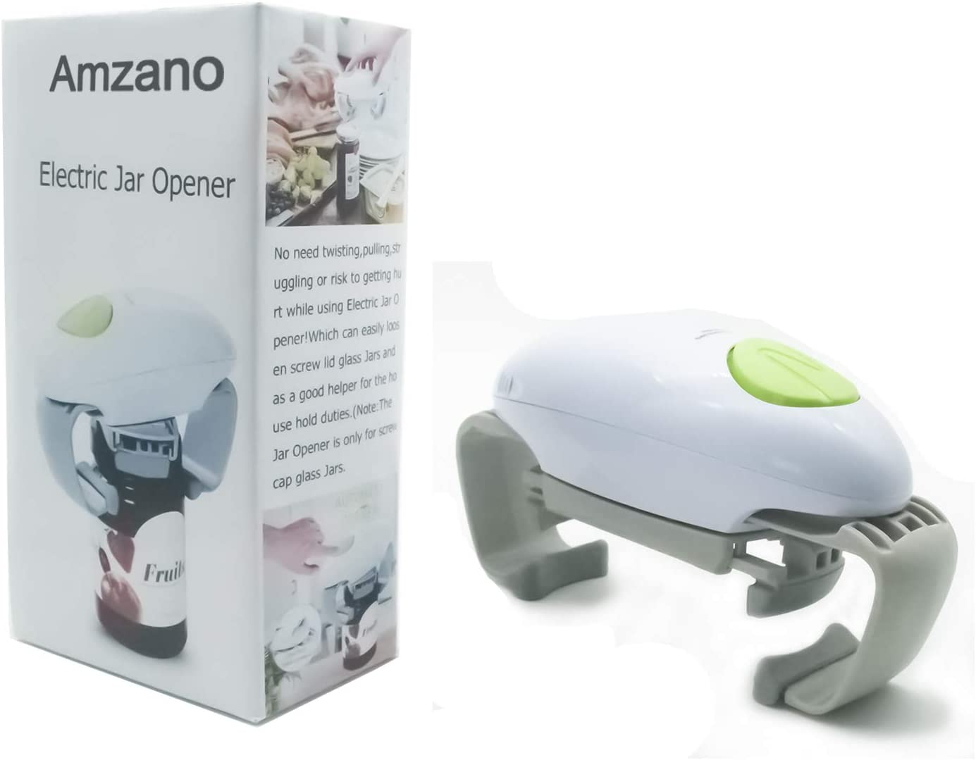 Amzano Electric Can Opener The Free C Automatic 2021 new Hands Great interest