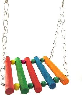 Pet Accessories Make Pet Bird Fun Tools Parrot Parakeet Budgie Cockatiel Cage Hammock Swing Toy Hanging Toy