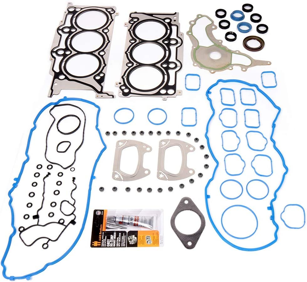 LSAILON Auto Parts CS26213-1 Engine Kits Lower Crankcase Conversion Gasket Sets Compatible with 2004-2009 for Buick for Chevrolet GMC Isuzu Oldsmobile Saab