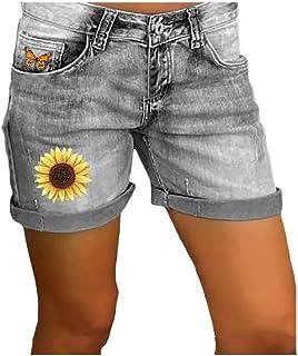 Doufine Women's Summer Jeans Casual Denim High Waist Short