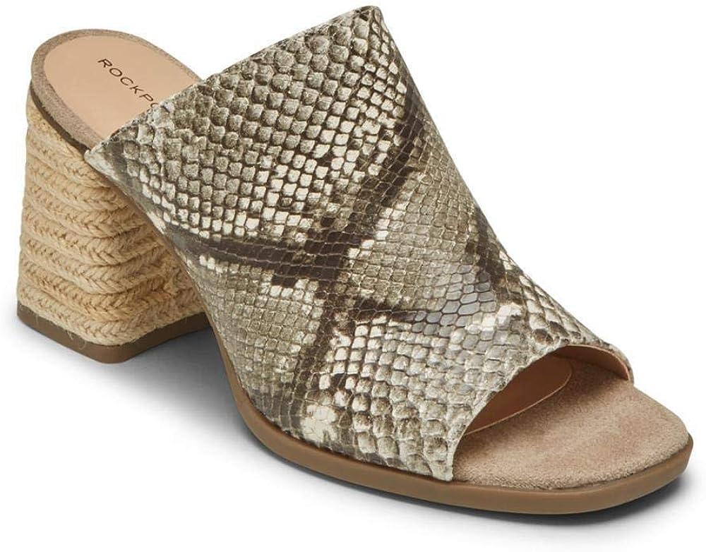 Rockport Women's Slide Wedge Credence Quality inspection Espadrille Sandal