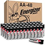 Energizer AA Batteries (48 Count), Double A Max Alkaline Battery...