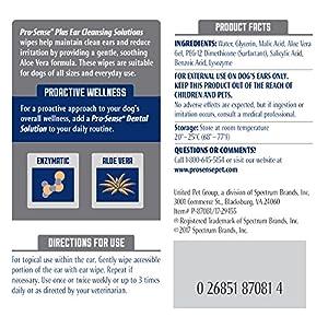Pro-Sense P-87081 Ear Cleansing Solutions Enzymatic Formula, 50-Count
