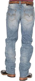 Rock and Roll Denim Men's Reflex Double Barrel Straight Leg Jeans, Light Vintage, 32x34