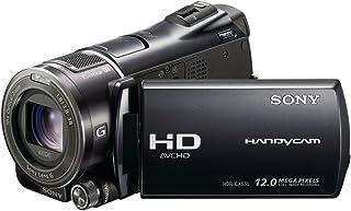 Sony HDR CX550VEB Full HD Camcorder (Flash, 10 fach optischer Zoom, 8,8 cm (3,5 Zoll) Display, EXMOR R Sensor, 64 GB interner Speicher) schwarz