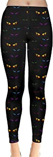 Womens Stretchy Tights Halloween Spider Web Pattern Fashion Leggings, XS-5XL