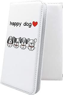Xperia Z SO-02E ケース 手帳型 犬 いぬ 犬柄 動物 動物柄 アニマル どうぶつ エクスペリア 手帳型ケース キャラクター キャラ キャラケース SO02E XperiaZ かわいい 可愛い kawaii lively