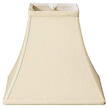 "Royal Designs BSO-715-10BG Square Bell Basic Lamp Shade, 5"" x 10"" x 9"", Beige"