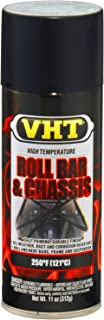 VHT ESP671007 Satin Black Roll Bar and Chassis Paint Can - 11 oz.