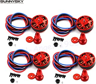 Yoton Accessories Newest 4set/lot SunnySky V3508 380KV 580KV 700KV disc Brushless Motor Wholesale (Color: 380KV)