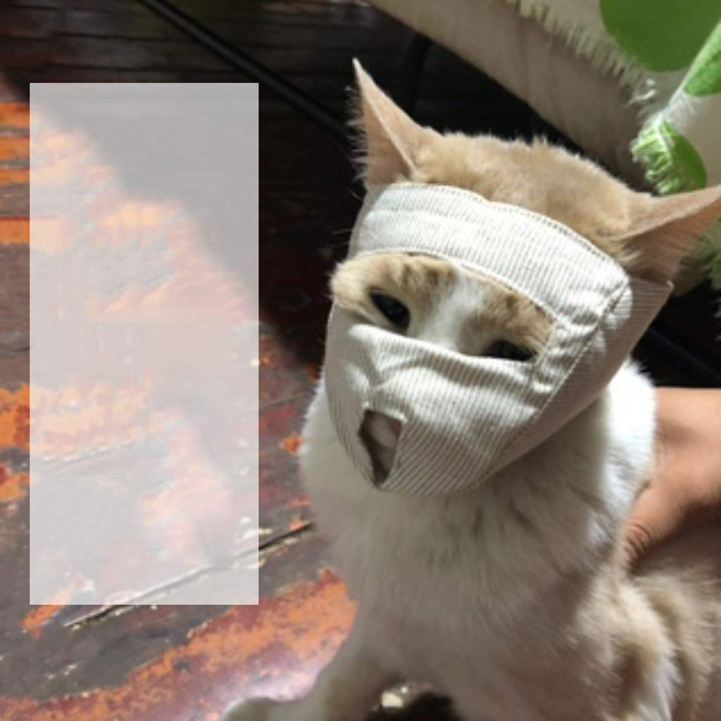 Bozal ajustable para mascotas, antiladridos, para gatos, gatitos ...
