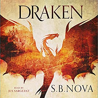 Draken     The Southern Fire Series, Book 1              By:                                                                                                                                 S. B. Nova                               Narrated by:                                                                                                                                 Jus Sargeant                      Length: 10 hrs and 59 mins     3 ratings     Overall 4.0