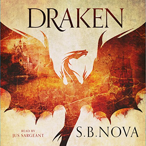 Draken audiobook cover art